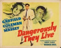 Dangerously They Live 1941 DVD - John Garfield / Nancy Coleman